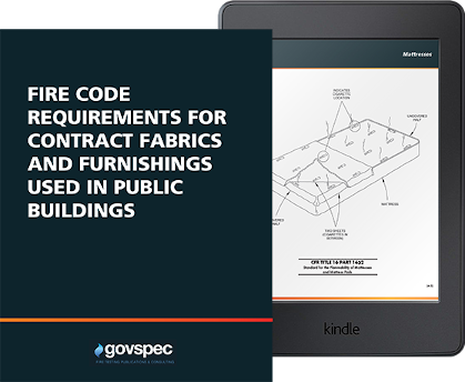 Fire Code Requirements for Contract Fabrics & Furnishings Used in Public Buildings